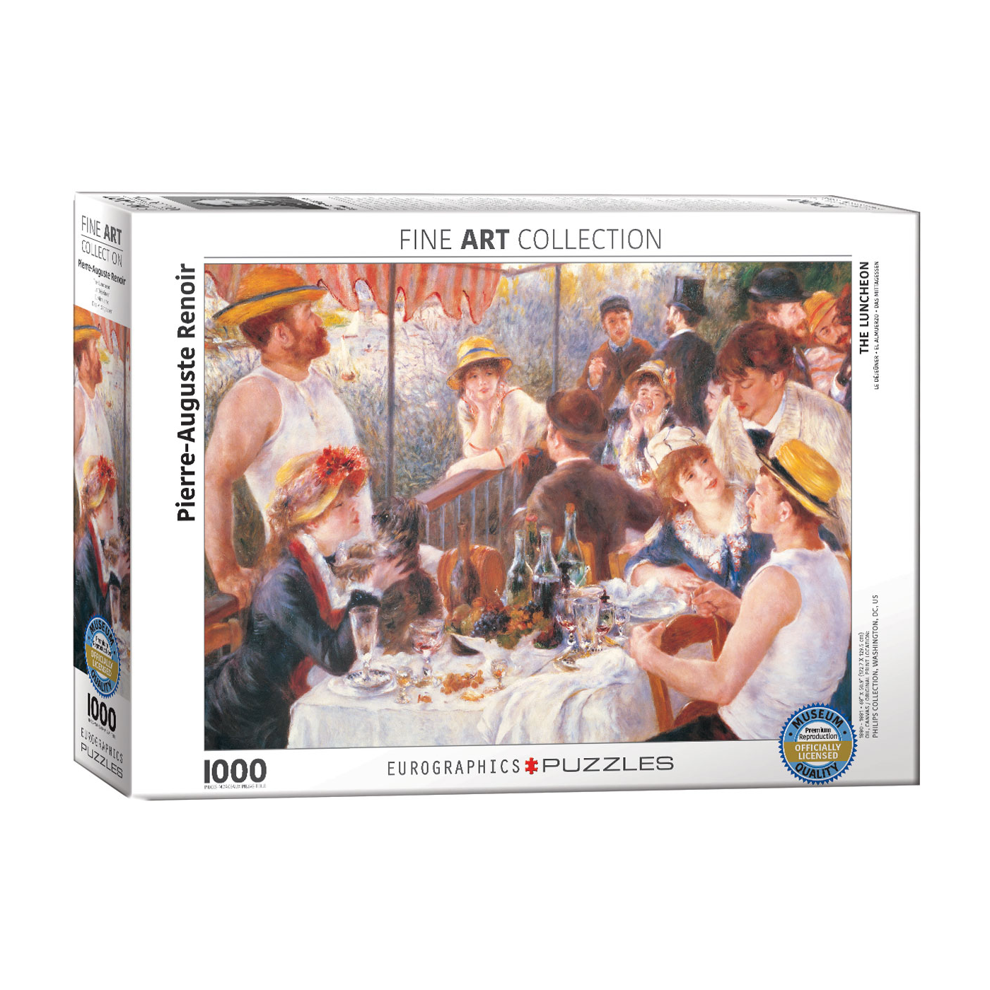 E - The Luncheon by Pierre-Auguste Renoir - 1000pc (6000-2031)