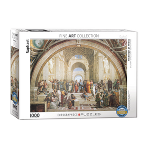 E - School of Athens by Raphael - 1000pc (6000-4141)