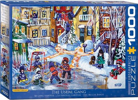 E - The Usual Gang - Katerina Mertikas - 1000pc (6000-5332)