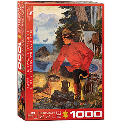 E - RCMP Morning Campfire - 1000pc (6000-5352)