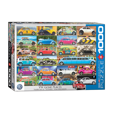 E - VW Beetle Gone Places - 1000pc (6000-5422)