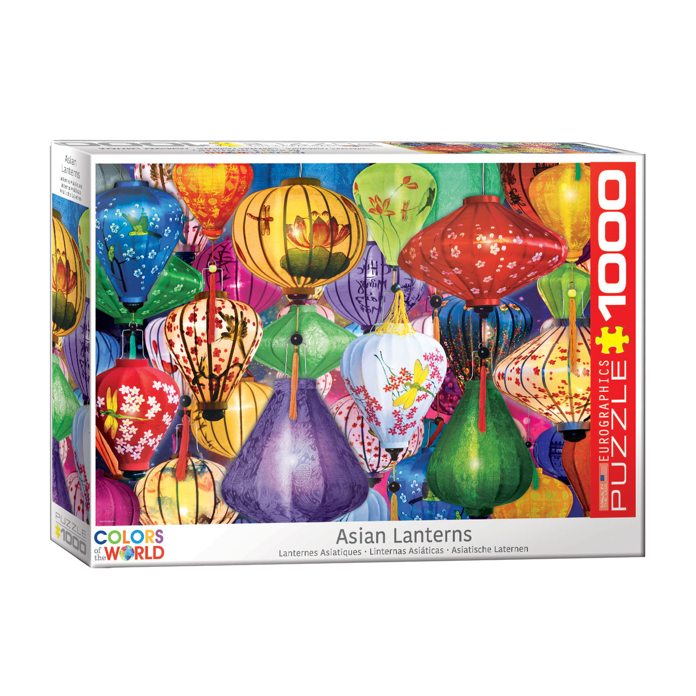 E - Asian Lanterns - 1000pc (6000-5469)