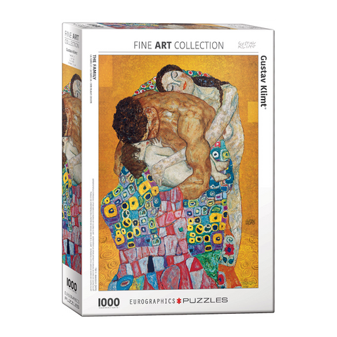 E - The Family (Expanding upon the work - Gustav Klimt) - 1000pc (6000-5477)