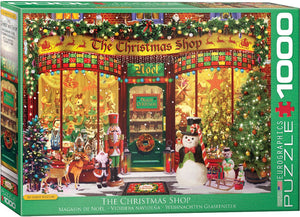 E - The Christmas Shop by Garry Walton - 1000pc (6000-5521)