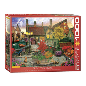 E - Old Town Living - David McLean - 1000pc (6000-5531)