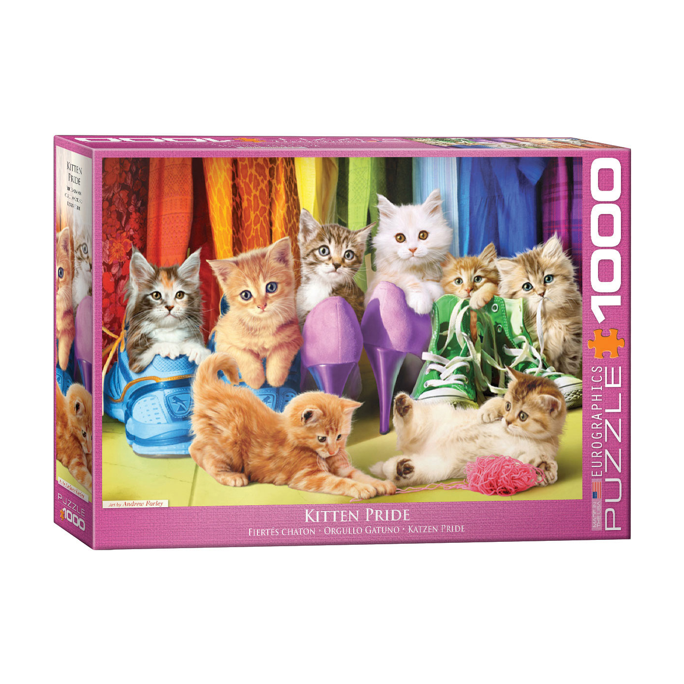 E - Kitten Pride - 1000pc (6000-5543)