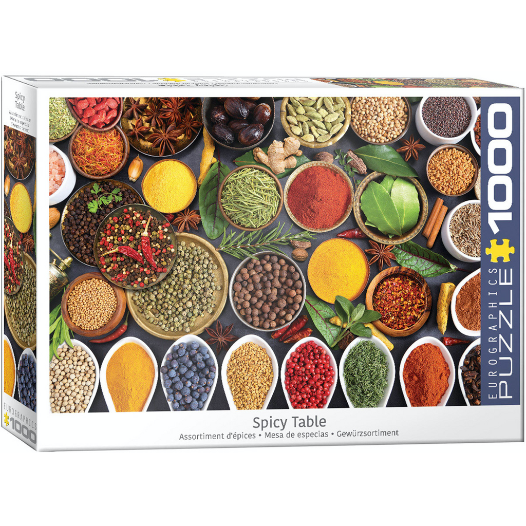 E - Spicy Table - 1000pc (6000-5624)