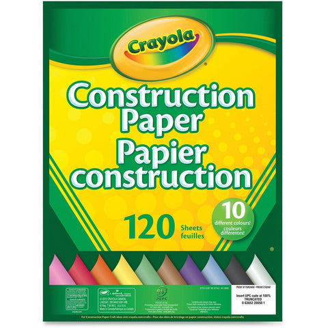 Construction Paper - Pad (120 ct)