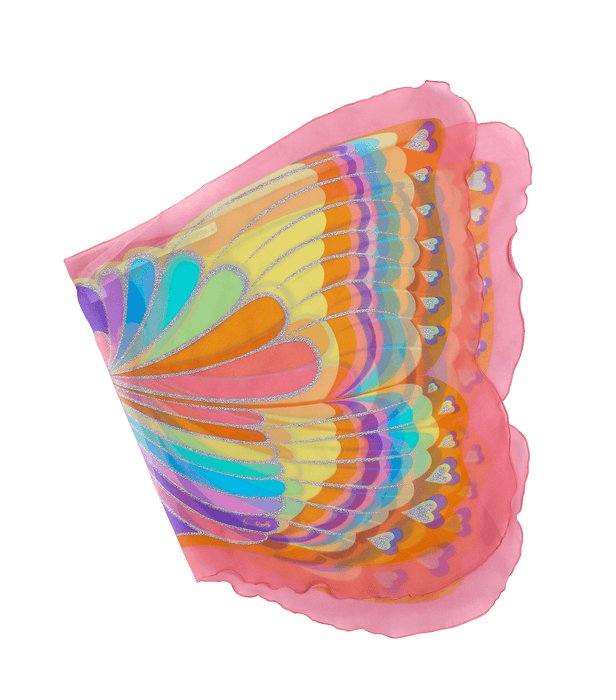 Pink Rainbow Butterfly Wing (62348)