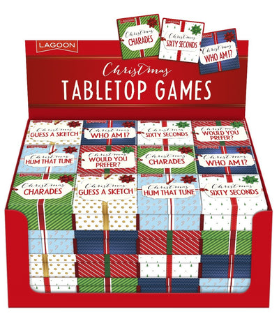 CHRISTMAS TABLETOP GAMES
