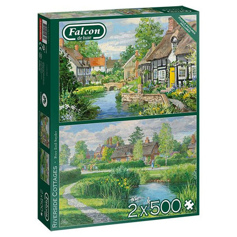 F - Riverside Cottages - 2x500pc mcx (71-11289)