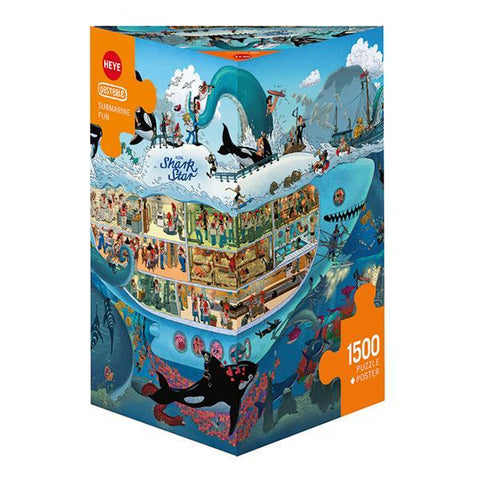 Heye - Submarine Fun Oesterle - 1500pc (78-29925)