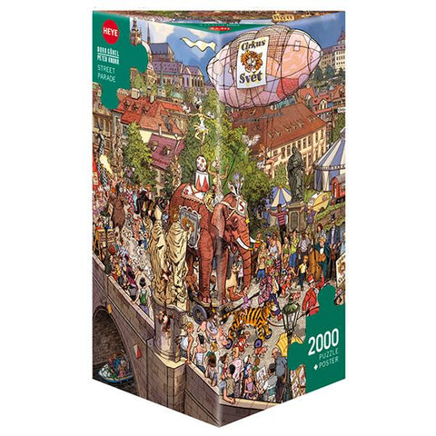 Heye - Street Parade Gabel/Knorr - 2000pc (78-29926)