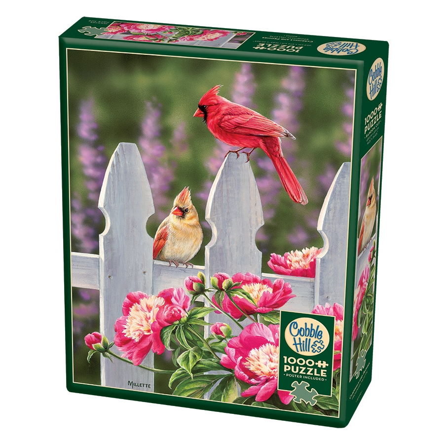 CH - Cardinals and Peonies - 1000pc (80010)