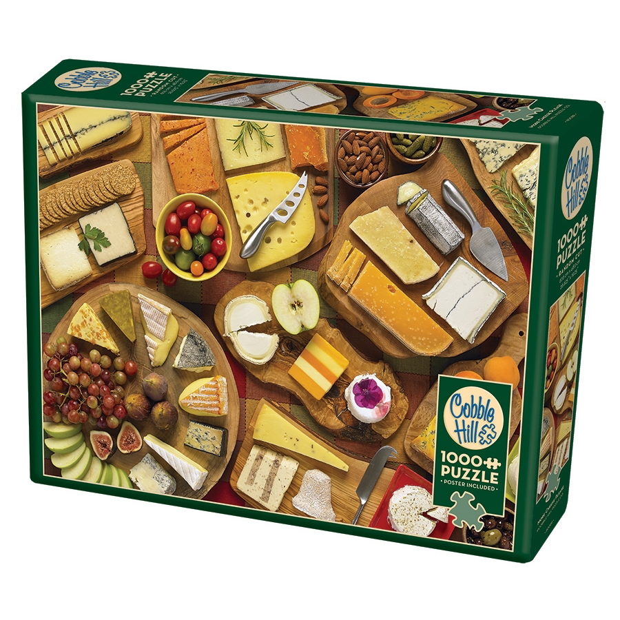 CH - More Cheese Please - 1000pc (80089)