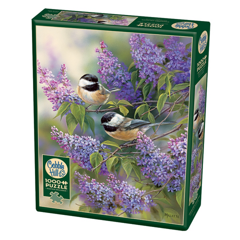 CH - Chickadees and Lilacs - 1000pc (80112)