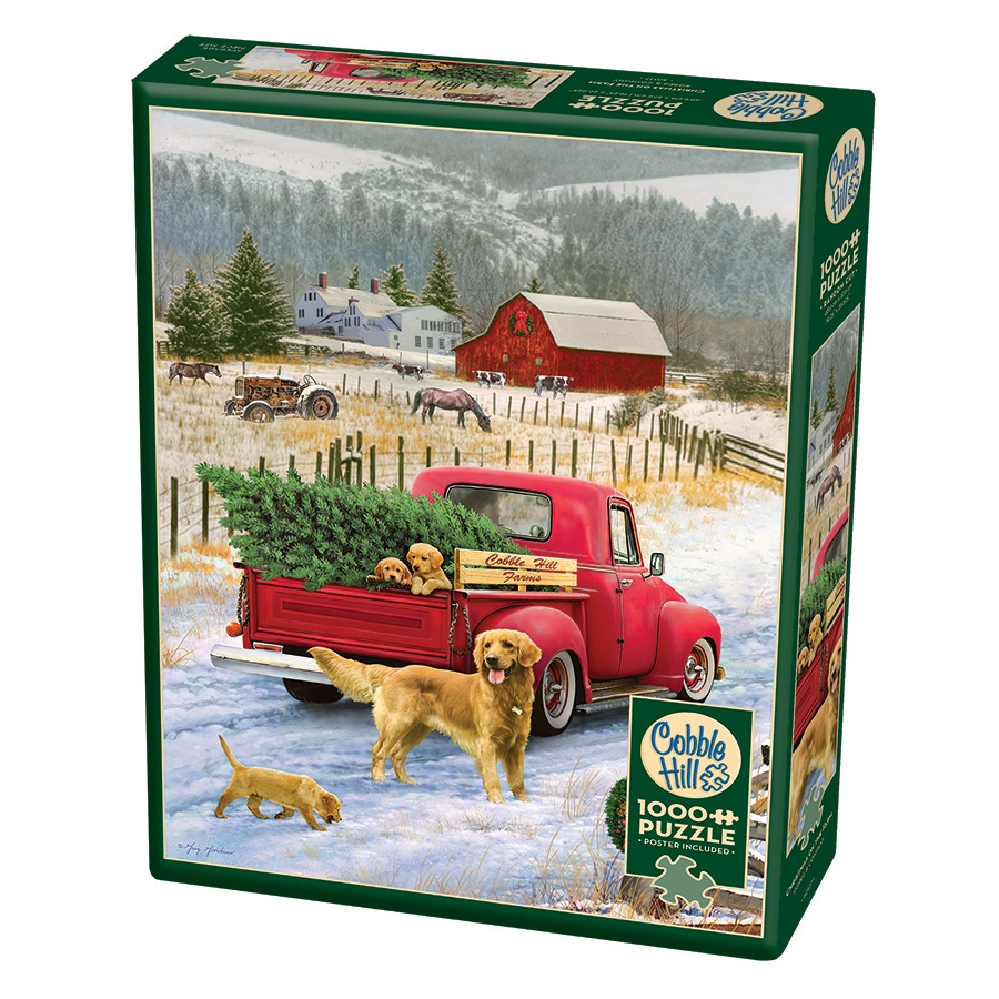 CH - Christmas on the Farm - 1000pc (80127)