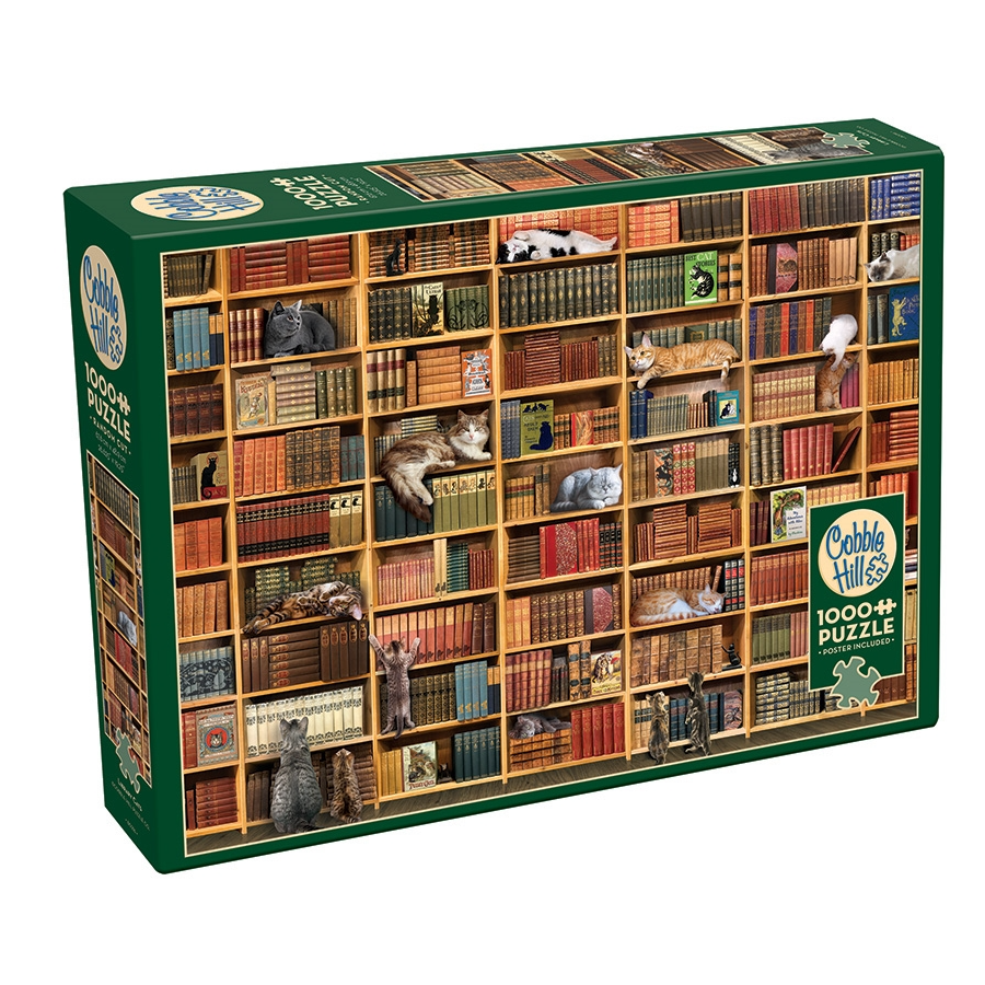 CH - The Cat Library - 1000pc (80216)