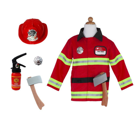 Firefighter (5 Accessories) - 5-6 Years