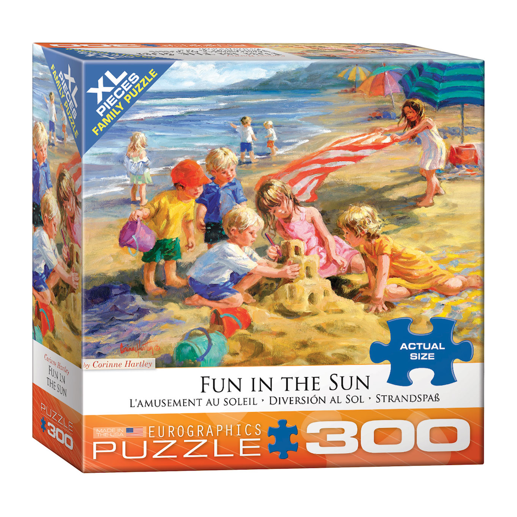 E - Fun in the Sun by Corinne Hartley - 300pc (Large Format) (8300-0449)