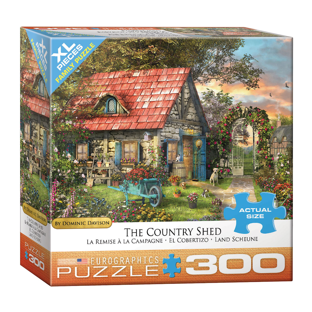 E - Country Shed by Dominic Davison - 300pc (Large Format) (8300-0971)