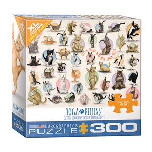 E - Yoga Kittens - 300pc (Large Format) (8300-0991)