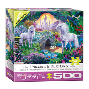 E - Unicorns in Fairy Land by Jan Patrik - 500pc (Large Format) (8500-5363)