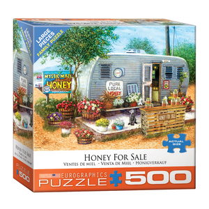 E - Honey For Sale by Janet Kruskamp - 500pc (Large Format) (8500-5364)