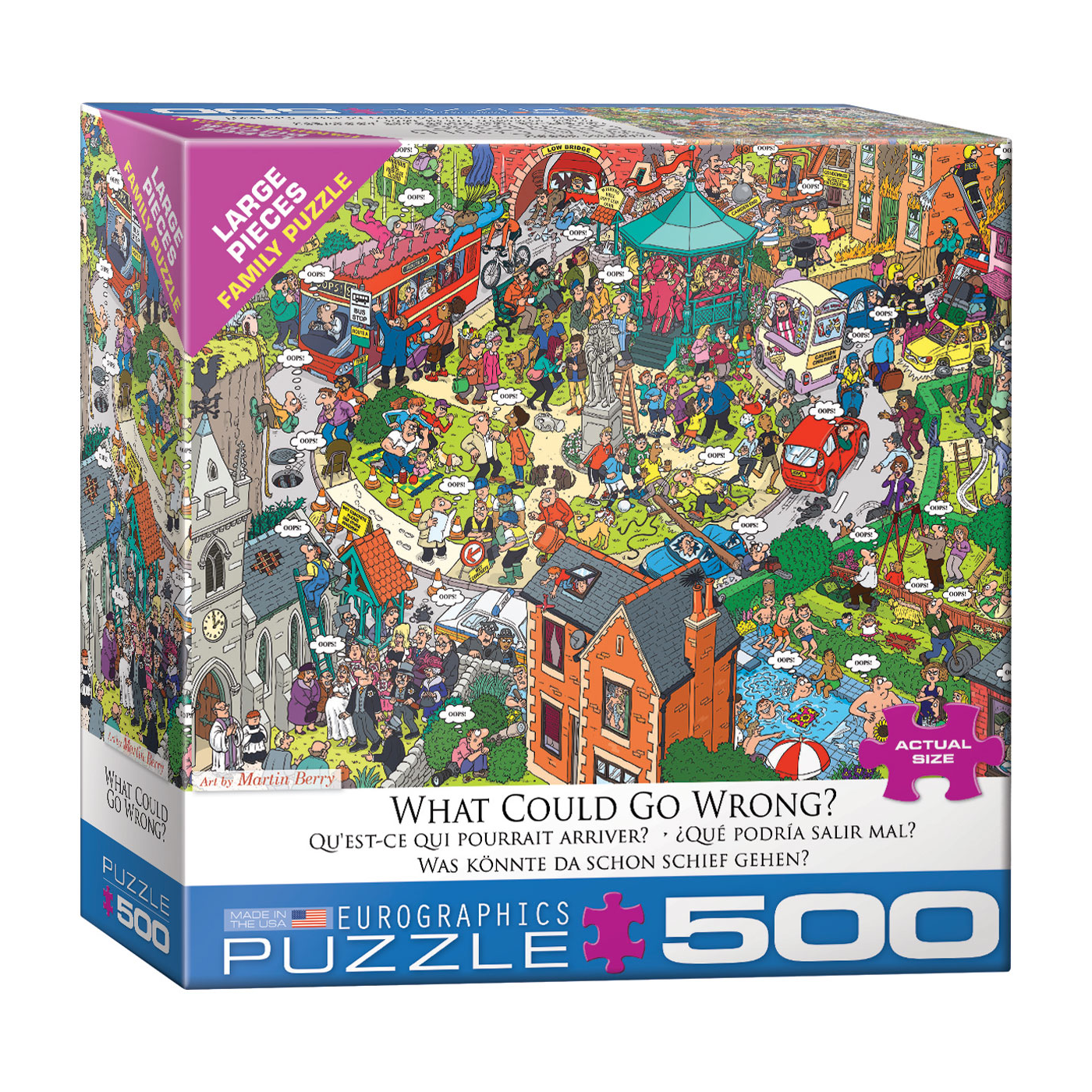 E - What Could go Wrong? By Martin Berry - 500pc (Large Format) (8500-5460)