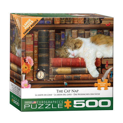E - The Cat Nap - 500pc (Large Format) (8500-5545)