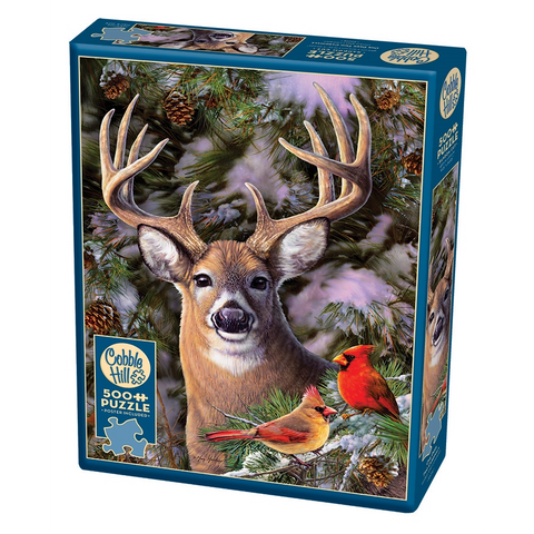 CH - One Deer Two Cardinals - 500pc (85014)
