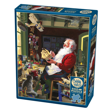 CH - Santa's Workbench - 500pc (85043)