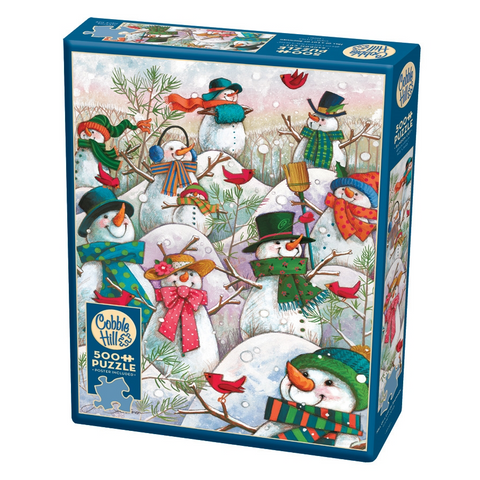 CH - Hill of a Lot of Snowmen - 500pc (85081)