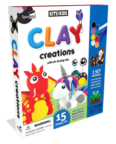 Kits for Kids: Clay Creations