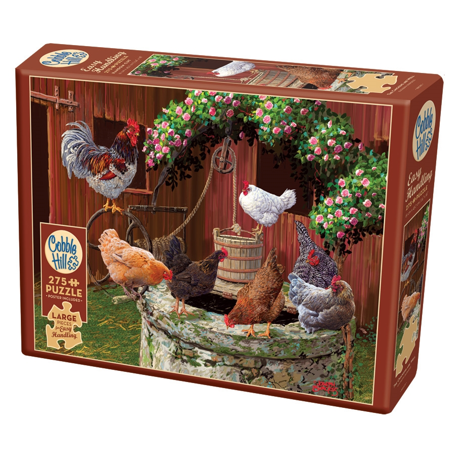 CH - The Chickens are Well (Easy Handling) - 275pc (88029)