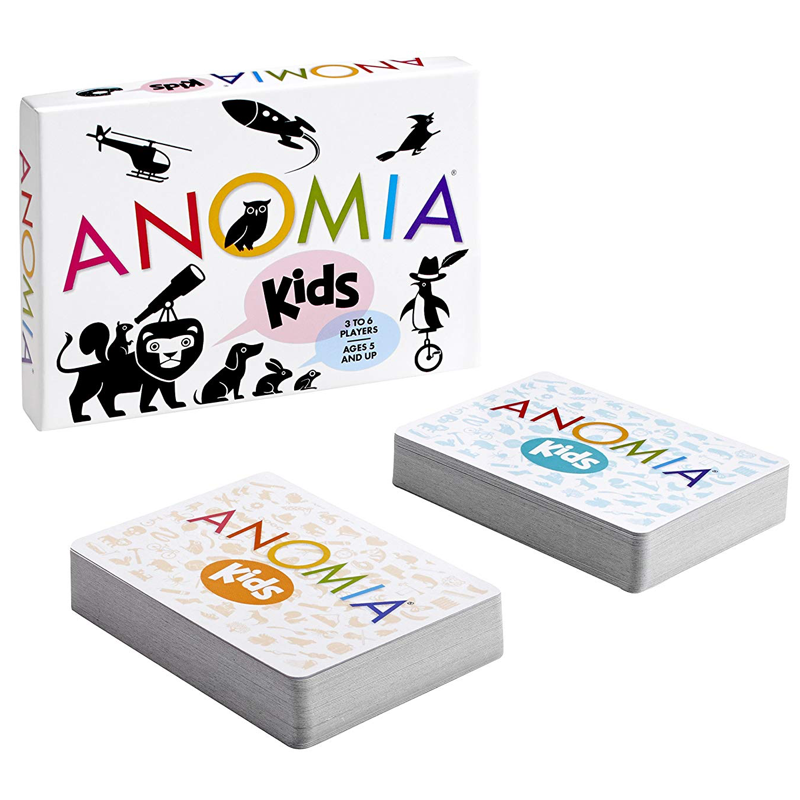 Anomia - Kids - Card Game (Ages 5+) (EV)