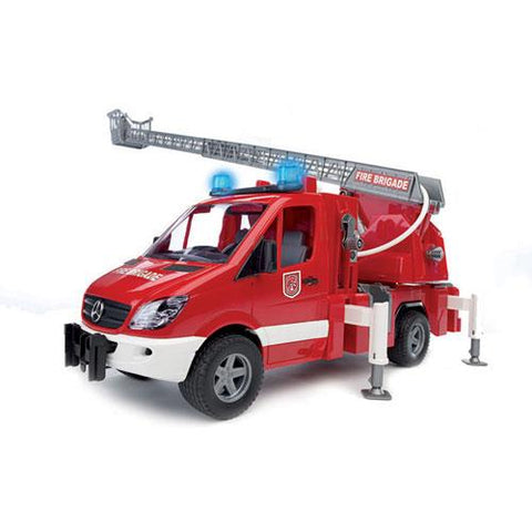 MB Sprinter Fire Engine w/ Water Pump, Light/Sound Module (02532)