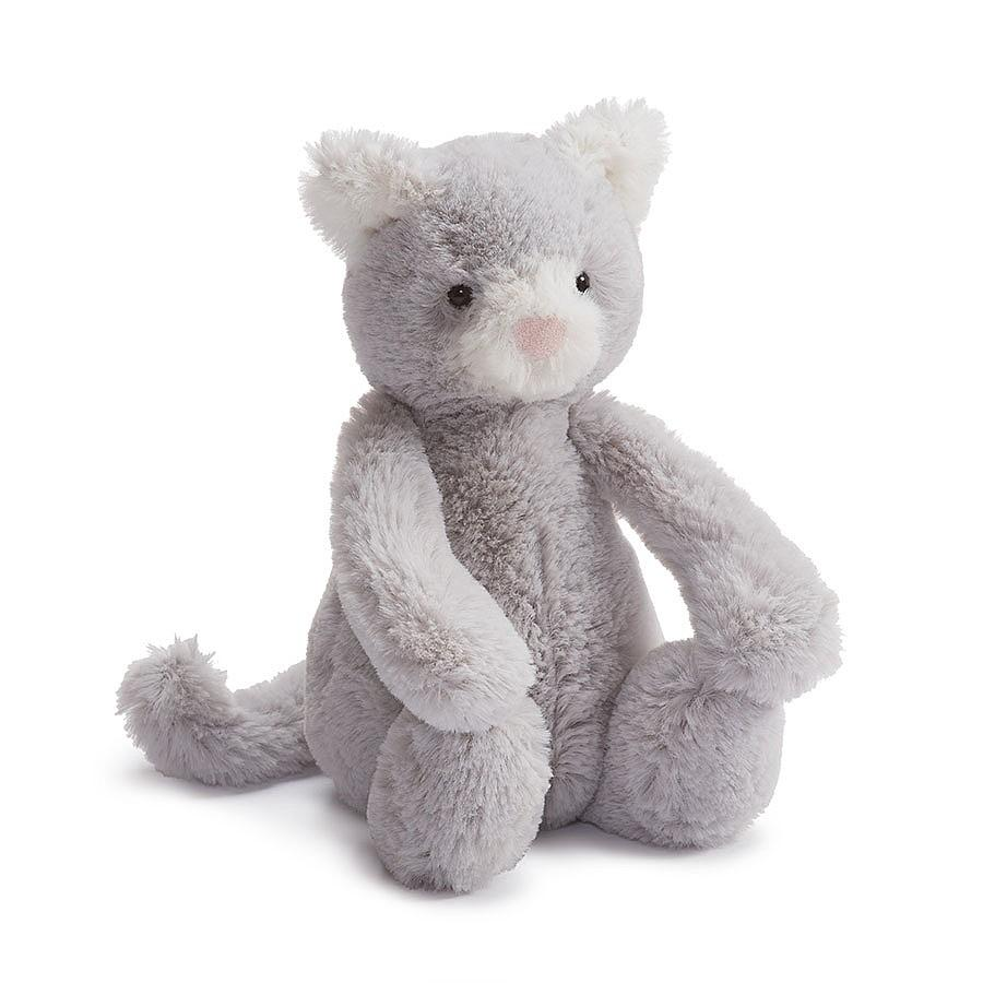 Bashful Grey Kitty Small
