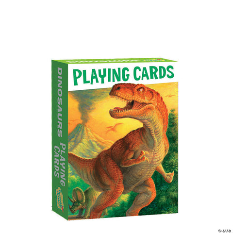 Dinosaurs Playing Card Pack (small)