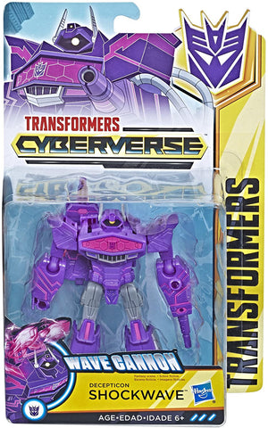 Transformers: Cyberverse Warrior - SHOCKWAVE (HAS)