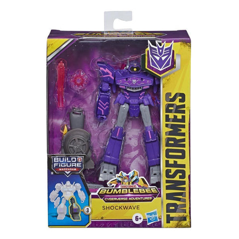 Transformers Cyberverse Deluxe  - SHOCKWAVE (HAS)
