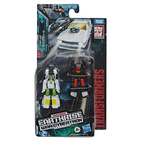Transformers Gen WFC E Micromaster - TRIP-UP & DADDY-O (HAS)