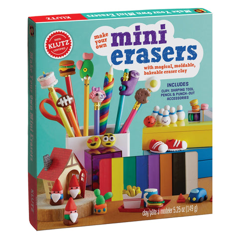 Klutz - Make Your Own Mini Erasers (SCH)