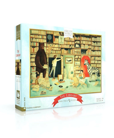 NYP - Dream World: The Library - 1000pc