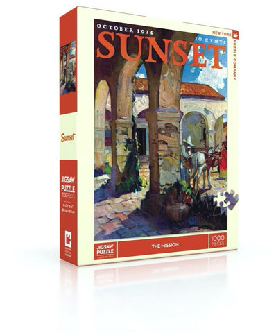 NYP - Sunset:  The Mission - 1000pc