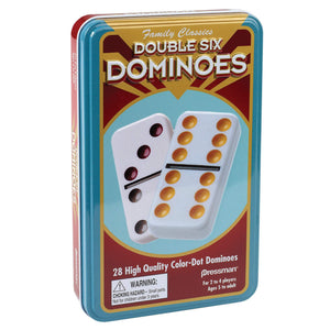 Double Six Dominoes (tin game)