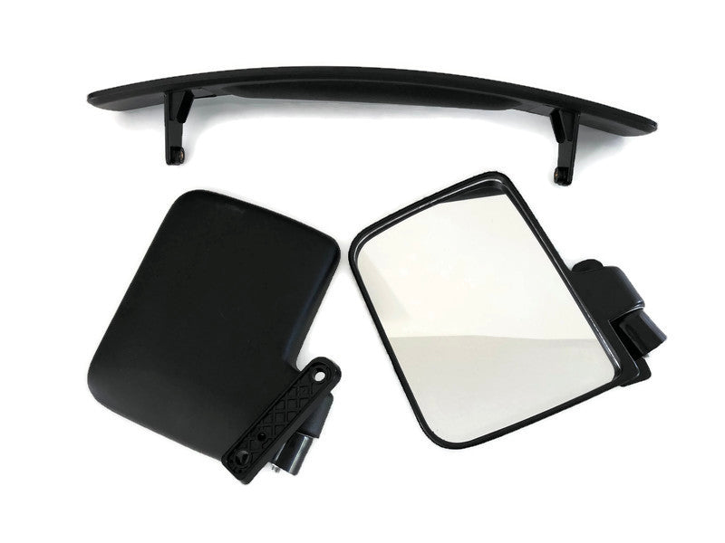 Kit Folding Side Mirror and Rear View Panoramic