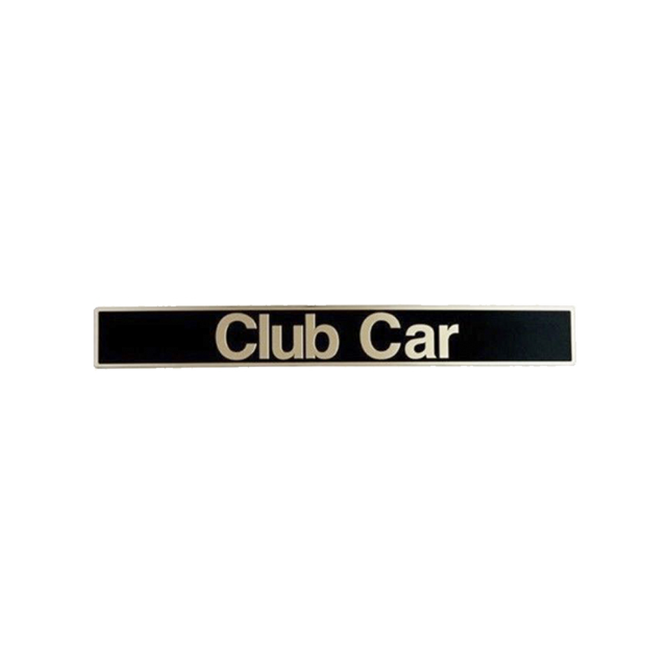 Club Car Name Plates