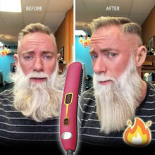 Load image into Gallery viewer, ¡¾Fast & Long Lasting¡¿Premium Hair And Beard Straightening Comb