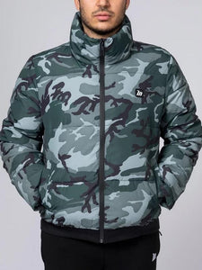 3 Colors Camouflage/solid Color Men's Cotton-padded Clothes